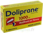 DOLIPRANE ADULTES 1000 mg, suppositoire à Cavignac
