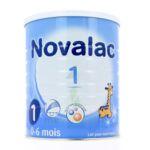 NOVALAC LAIT 1 BOITE 800G à Cavignac