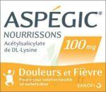 ASPEGIC NOURRISSONS 100 mg, poudre pour solution buvable en sachet-dose à Cavignac