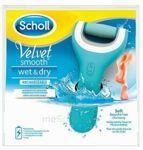 Scholl Velvet Smooth Wet & Dry Râpe Rechargeable à Cavignac
