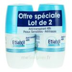 ETIAXIL DEO 48H ROLL-ON LOT 2 à Cavignac