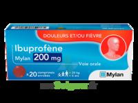IBUPROFENE MYLAN 200 mg, comprimé enrobé à Cavignac