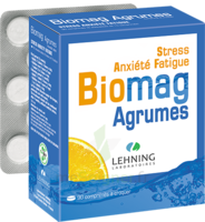 Lehning Biomag Comprimés à Croquer Agrumes B/90 à Cavignac