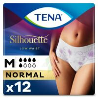 Tena Lady Silhouette Slip Absorbant Blanc Normal Médium Paquet/12 à Cavignac