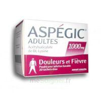 ASPEGIC ADULTES 1000 mg, poudre pour solution buvable en sachet-dose 20 à Cavignac