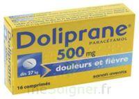 DOLIPRANE 500 mg Comprimés 2plq/8 (16) à Cavignac