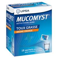 Mucomyst 200 Mg Poudre Pour Solution Buvable En Sachet B/18 à Cavignac
