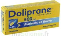 DOLIPRANE 500 mg Gélules B/16 à Cavignac