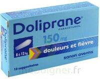 Doliprane 150 Mg Suppositoires 2plq/5 (10) à Cavignac