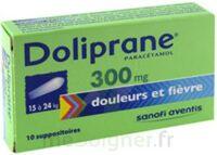 Doliprane 300 Mg Suppositoires 2plq/5 (10) à Cavignac