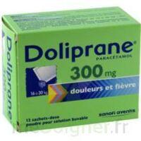DOLIPRANE 300 mg Poudre pour solution buvable en sachet-dose B/12 à Cavignac