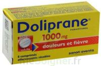 Doliprane 1000 Mg Comprimés Effervescents Sécables T/8 à Cavignac