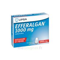 Efferalgan 1000 mg Comprimés pelliculés Plq/8 à Cavignac