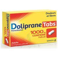 DOLIPRANETABS 1000 mg Comprimés pelliculés Plq/8 à Cavignac