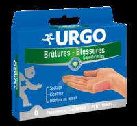 Urgo Brulures-blessures Petit Format X 6 à Cavignac