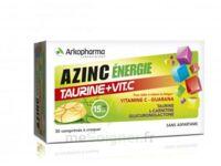 Azinc Energie Taurine + Vitamine C Comprimés à croquer dès 15 ans B/30 à Cavignac