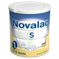 NOVALAC S 1, 0-6 mois bt 800 g à Cavignac