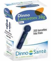 DINNO LANCETTES 30G VITREX, bt 200 à Cavignac