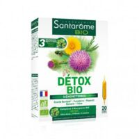 Santarome Bio Détox Solution Buvable 20 Ampoules/10ml à Cavignac