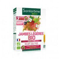 Santarome Bio Jambes Légères Solution Buvable 20 Ampoules/10ml à Cavignac