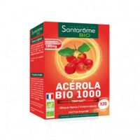 Santarome Bio Acérola 1000 Comprimés à croquer 2T/10 à Cavignac