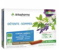 Arkofluide Bio Ultraextract Solution Buvable Détente Sommeil 20 Ampoules/10ml à Cavignac