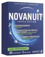 Novanuit Triple Action Comprimés B/30 à Cavignac