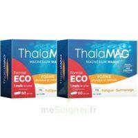 THALAMAG FORME PHYSIQUE & MENTALE Magnésium Marin Fer Vitamine B9 Gélules 2B/60 à Cavignac