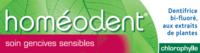 Boiron Homéodent Soin Gencives Sensibles Pâte Dentifrice Chlorophylle 2t/75ml à Cavignac