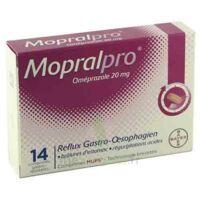Mopralpro 20 Mg Cpr Gastro-rés Film/14 à Cavignac