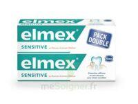 ELMEX SENSITIVE DENTIFRICE, tube 75 ml, pack 2 à Cavignac