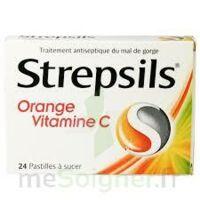 STREPSILS ORANGE VITAMINE C, pastille à Cavignac
