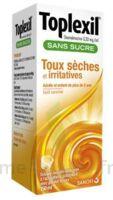 Toplexil 0,33 Mg/ml Sans Sucre Solution Buvable 150ml à Cavignac