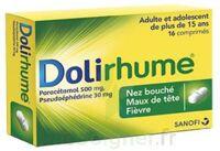 DOLIRHUME PARACETAMOL ET PSEUDOEPHEDRINE 500 mg/30 mg, comprimé à Cavignac
