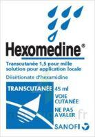 HEXOMEDINE TRANSCUTANEE 1,5 POUR MILLE, solution pour application locale à Cavignac