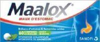 MAALOX HYDROXYDE D'ALUMINIUM/HYDROXYDE DE MAGNESIUM 400 mg/400 mg Cpr à croquer maux d'estomac Plq/60 à Cavignac