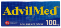ADVILMED 100 mg, comprimé enrobé à Cavignac