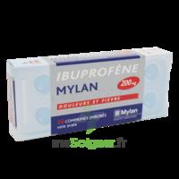 IBUPROFENE MYLAN 200 mg, comprimé enrobé B/30 à Cavignac