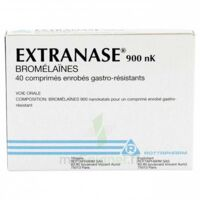 EXTRANASE 900 nK, comprimé enrobé gastro-résistant à Cavignac