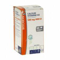 Calcium Vitamine D3 Biogaran 500 Mg/400 Ui, Comprimé à Sucer à Cavignac