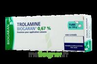 TROLAMINE BIOGARAN 0,67 % Emuls appl cut T/186g à Cavignac