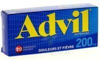 ADVIL 200 mg, 20 comprimés enrobés B/20