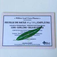 FEUILLE DE SAULE 40 g/100 g, emplâtre à Cavignac
