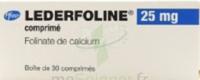Lederfoline 25 Mg, Comprimé à Cavignac