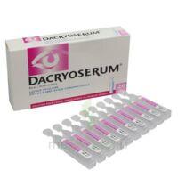 Dacryoserum Solution Pour Lavage Ophtalmique En Récipient Unidose 20unidoses/5ml à Cavignac