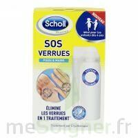 Scholl SOS Verrues traitement pieds et mains à Cavignac