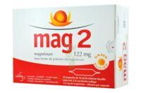 MAG 2 SANS SUCRE 122 mg, solution buvable en ampoule édulcoré à la saccharine sodique à Cavignac