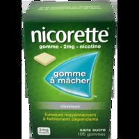 Nicorette 2 Mg Gom à Mâcher Médic Sans Sucre Menthe Fraîche Plq/105gom à Cavignac