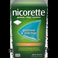 Nicorette 2 Mg Gomme à Mâcher Médicamenteuse Sans Sucre Fruits Plq/30 à Cavignac