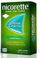 Nicorette 2 Mg Gom à Mâcher Médic Sans Sucre Menthe Fraîche Plq/30gom à Cavignac